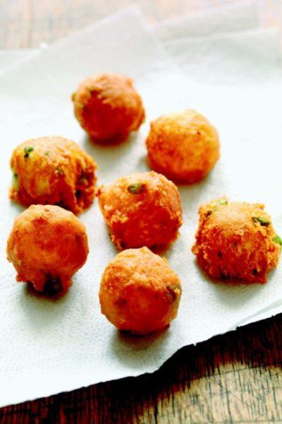 Mozzarella Parmesan Fritters