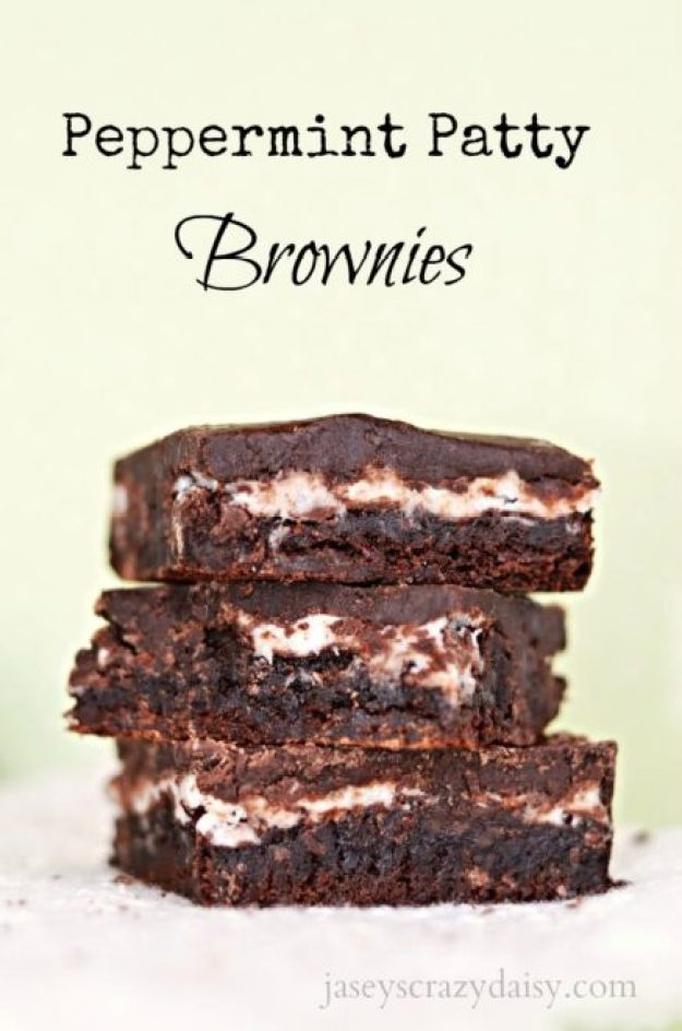 Peppermint Patty Brownies