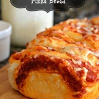 Pull Apart Pepperoni Pizza Bread