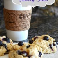 Coffee House Blueberry Scones
