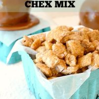 Delicious Caramel Apple Chex