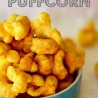 Delicious Caramel PuffCorn
