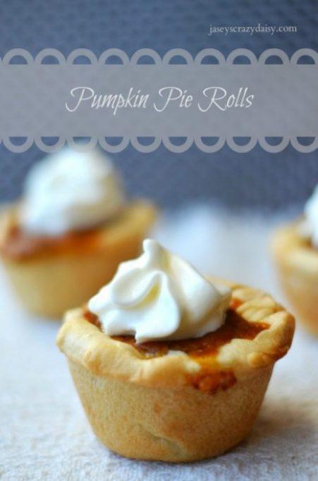 Delicious Pumpkin Pie Rolls