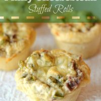 Philly Cheesesteak Stuffed Rolls