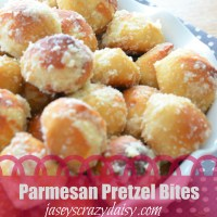 Delicious Parm Pretzel Bites