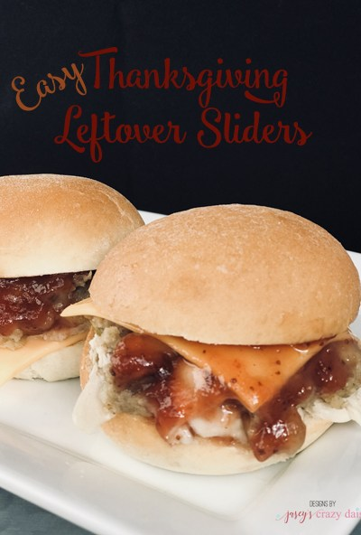 Easy Thanksgiving Leftover Sliders