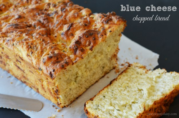 Blue Cheese Chopped Bread