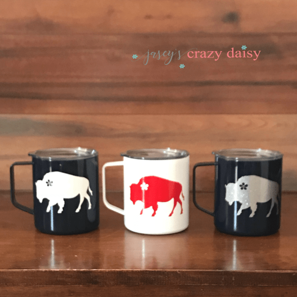 Wildflower Buffalo Campfire Mug
