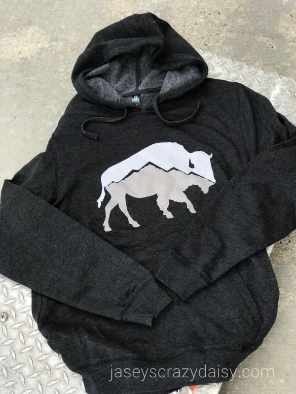 Mountain Buffalo Hoodie