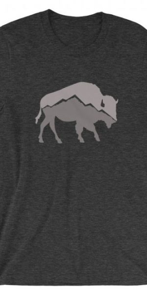 Mountain Buffalo Unisex T-Shirt