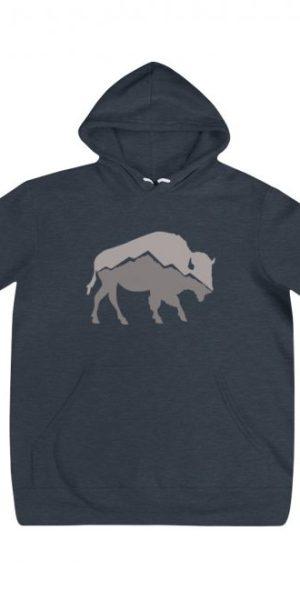 Mountain Buffalo Unisex Hoodie