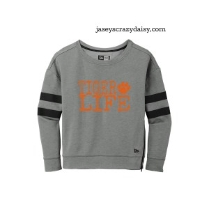 TIger Life Zipper Crew