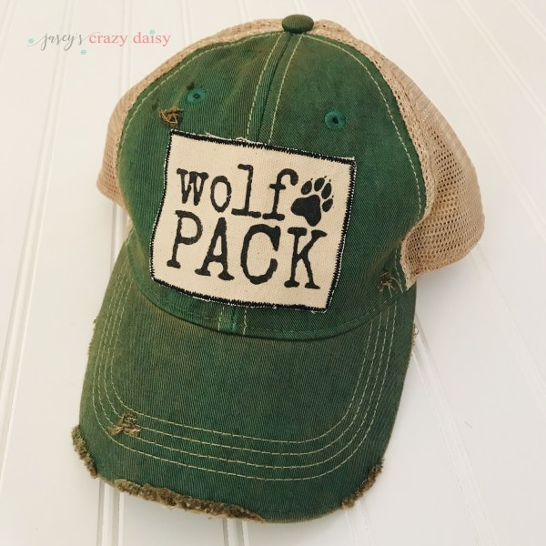 Green Wolf Pack Hat