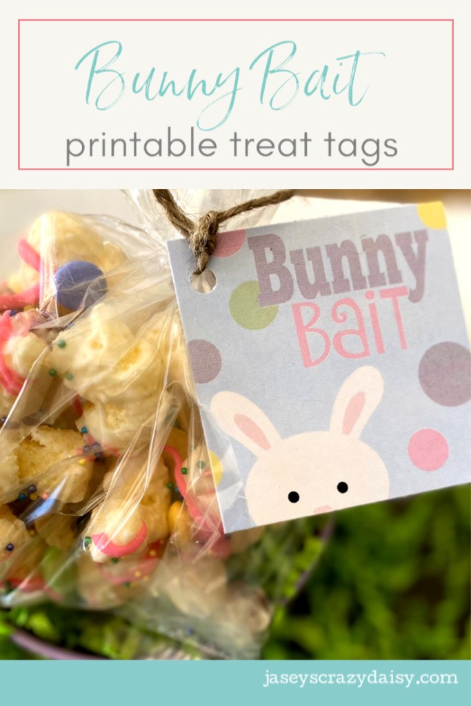 Printable Bunny Bait Tags
