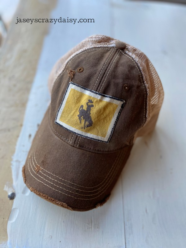 Brown Bucking Horse Hat