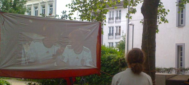 public viewing kloksweg