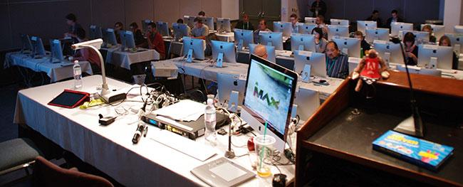 Adobe MAX 2013: Pre-Conference Lab zur Adobe Creative Cloud.