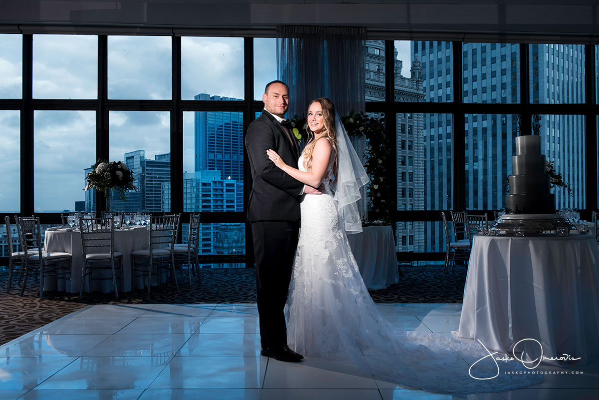 royal sonesta wedding chicago riverfront