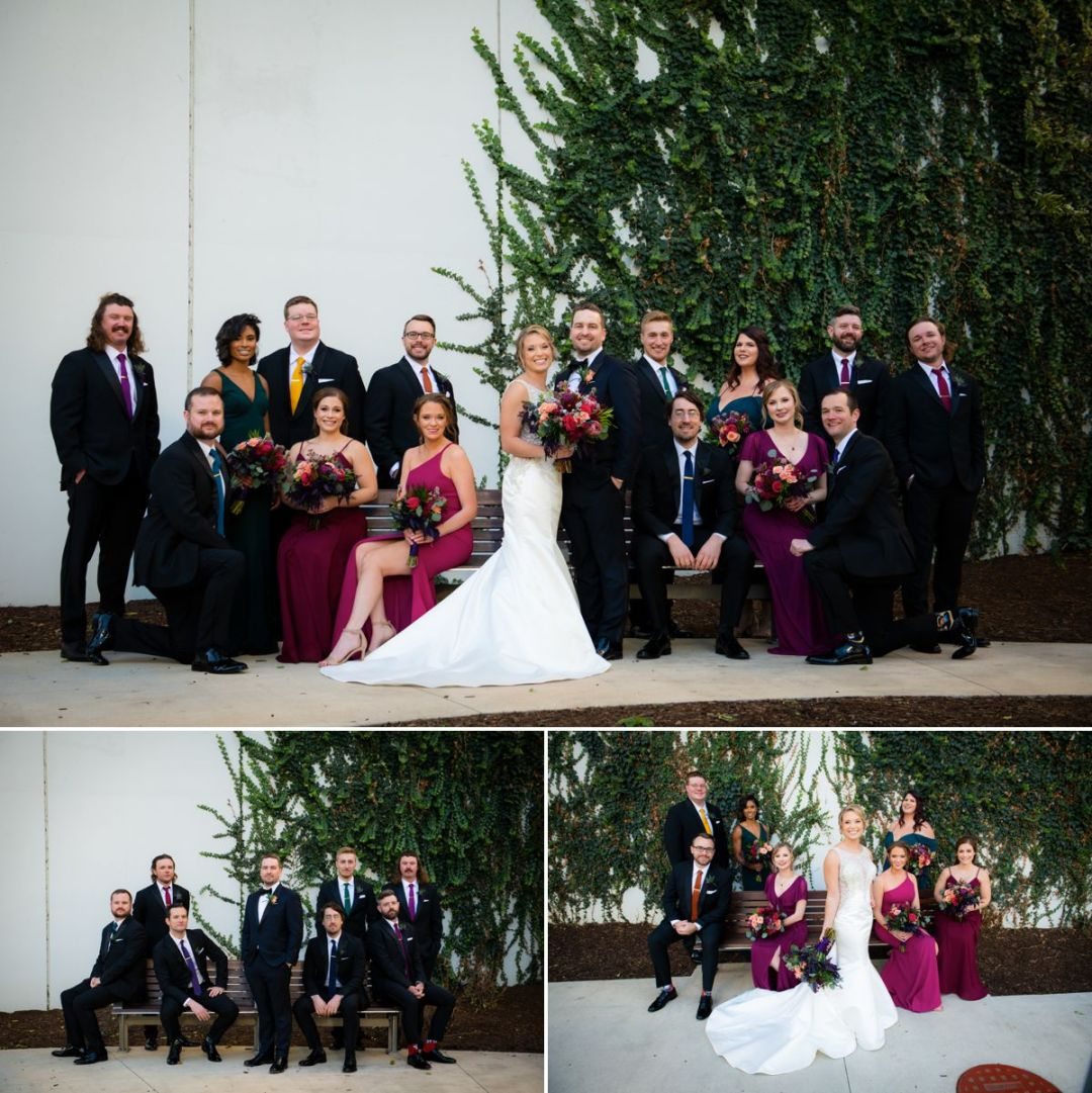 bridal party portraits chicago