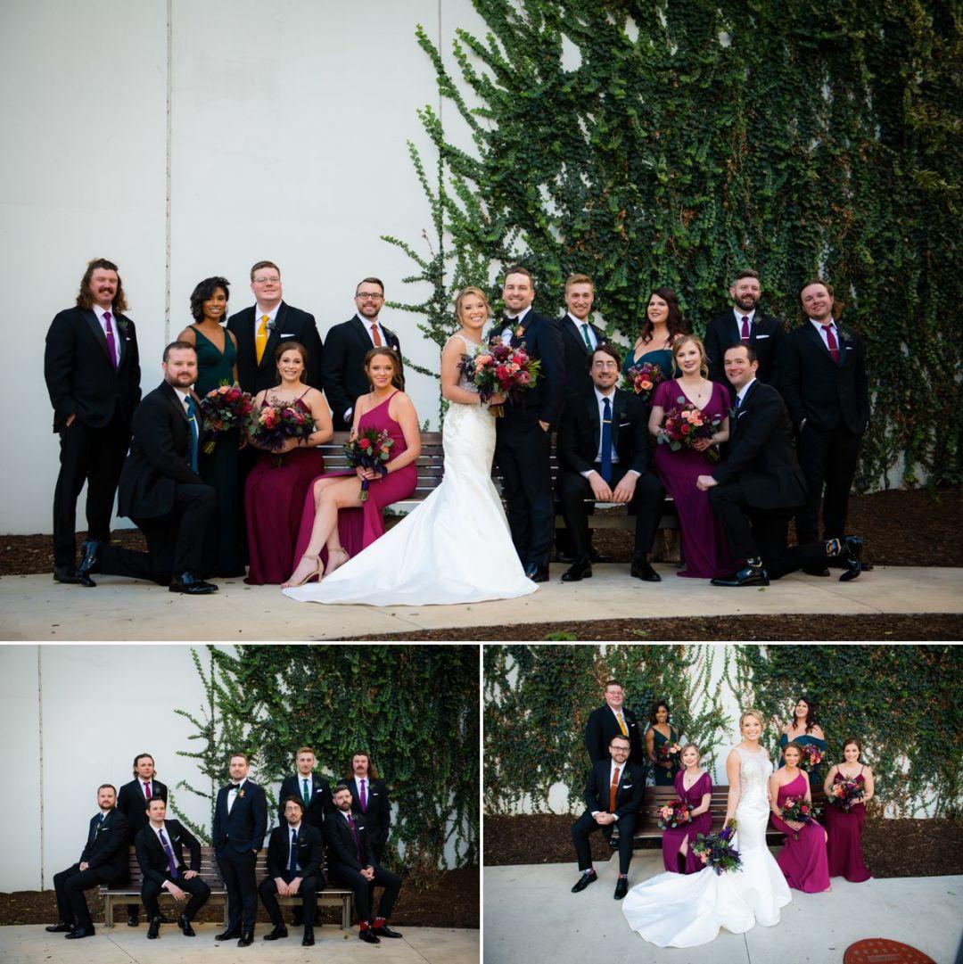 bridal party portraits chicago