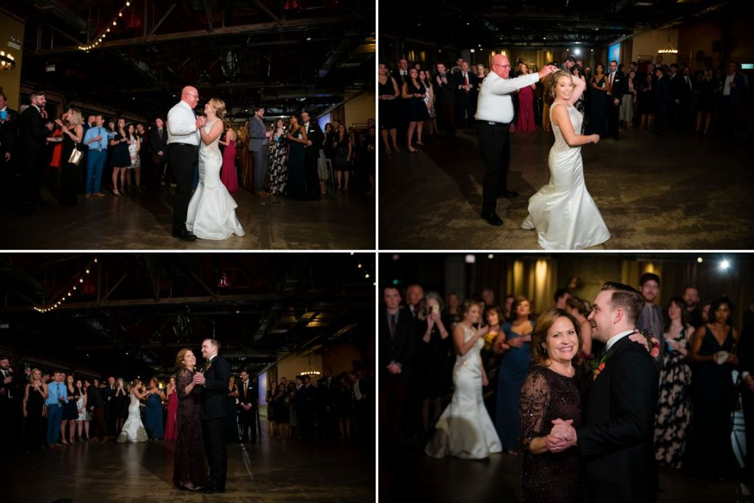 ovation chicago event reception bride dancing