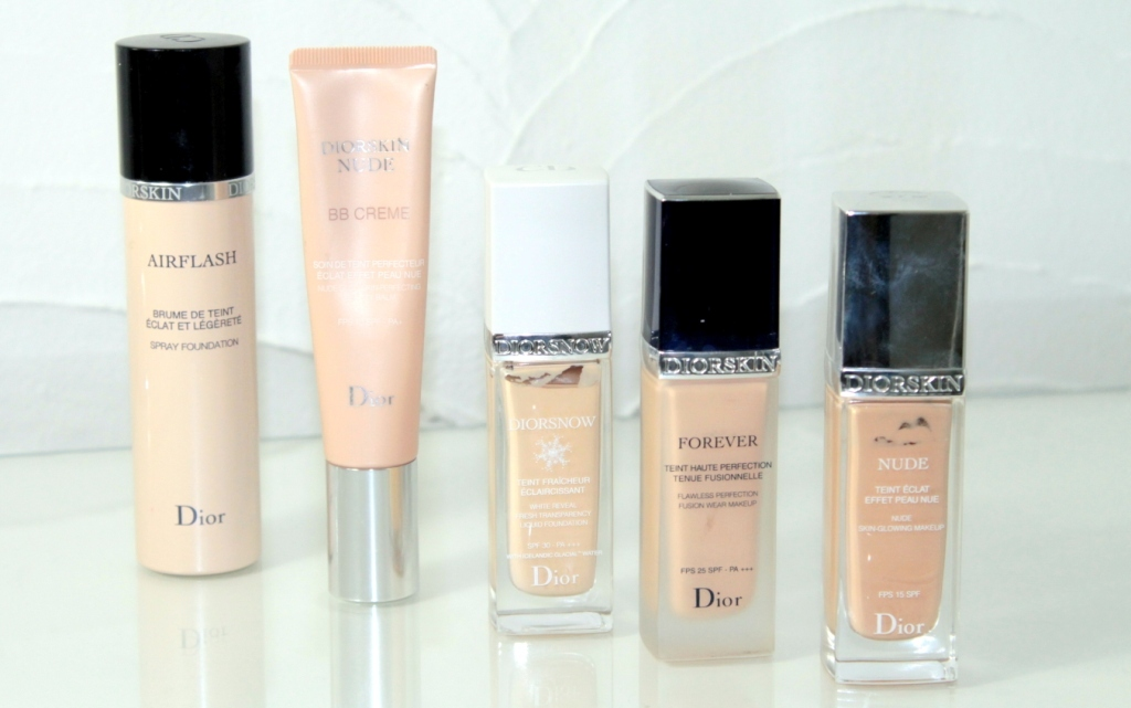 dior foundations