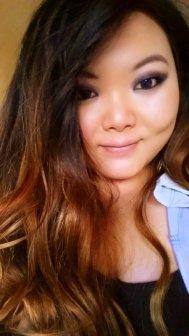 Mijn haar is nogal van die lengte dat het moeilijk is alles op de foto te krijgen