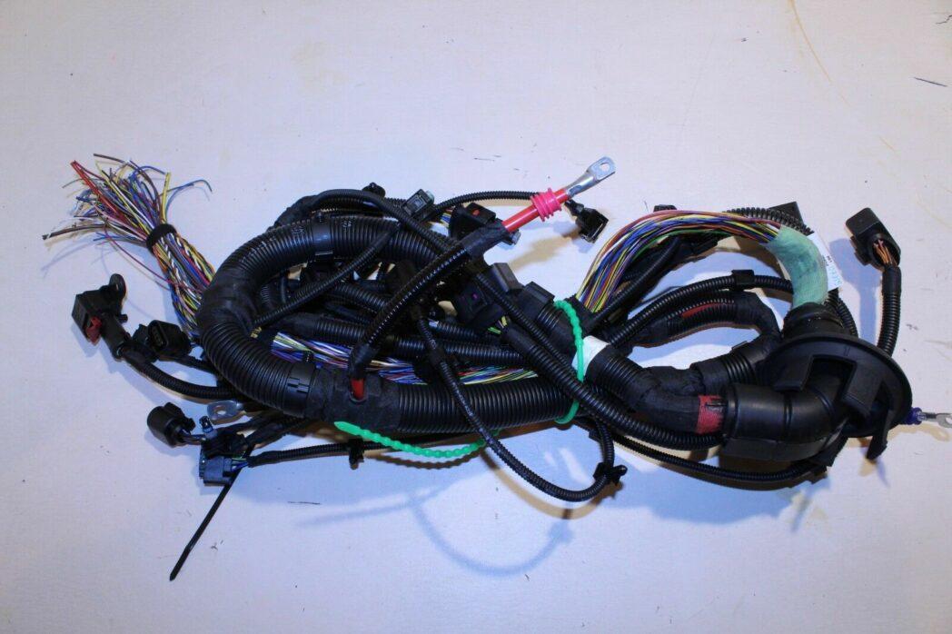 genuine porsche 970 panamera front sub part wiring harness 97061293300 nos