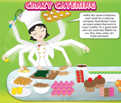 crazy catering copy