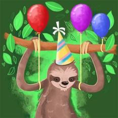 party sloth copySQ