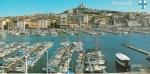 マルセイユの港/南フランス【ジャスミンKYOKOの絵葉書ギャラリー】