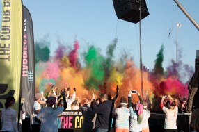 3, 2, 1 Color at the Color Run Grand Forks