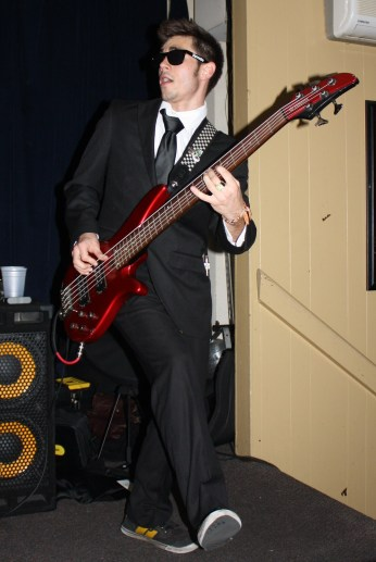 Clyde Schuman on bass