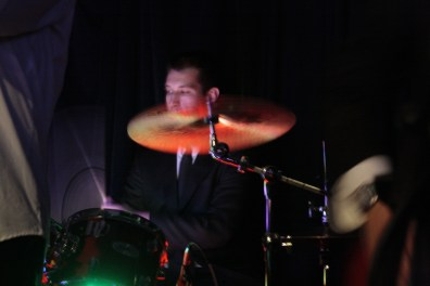 Andrew Ochoa on drums