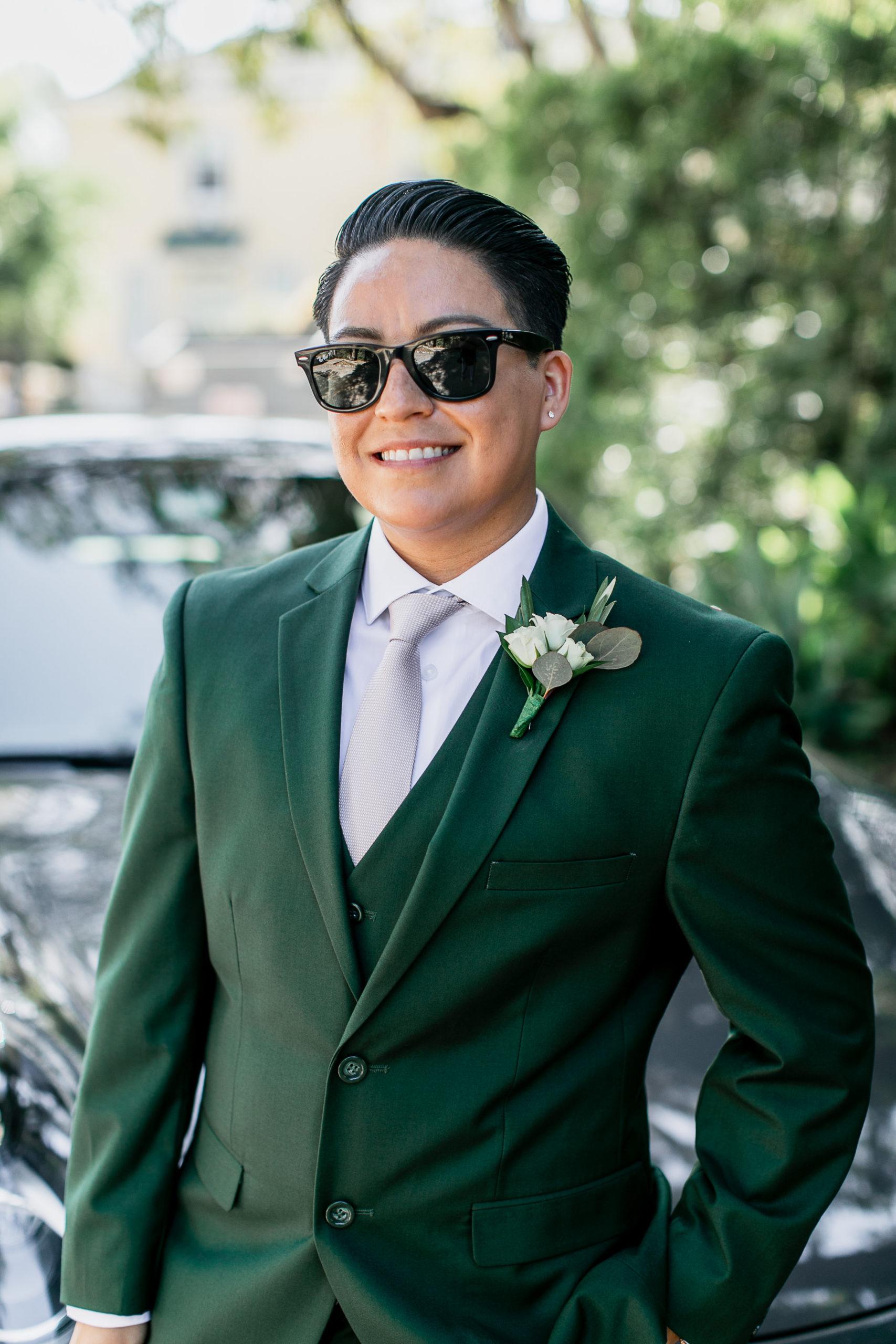 lgbtq wedding womens suit