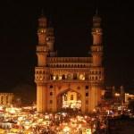 Charminar at night Hyderabad, South India