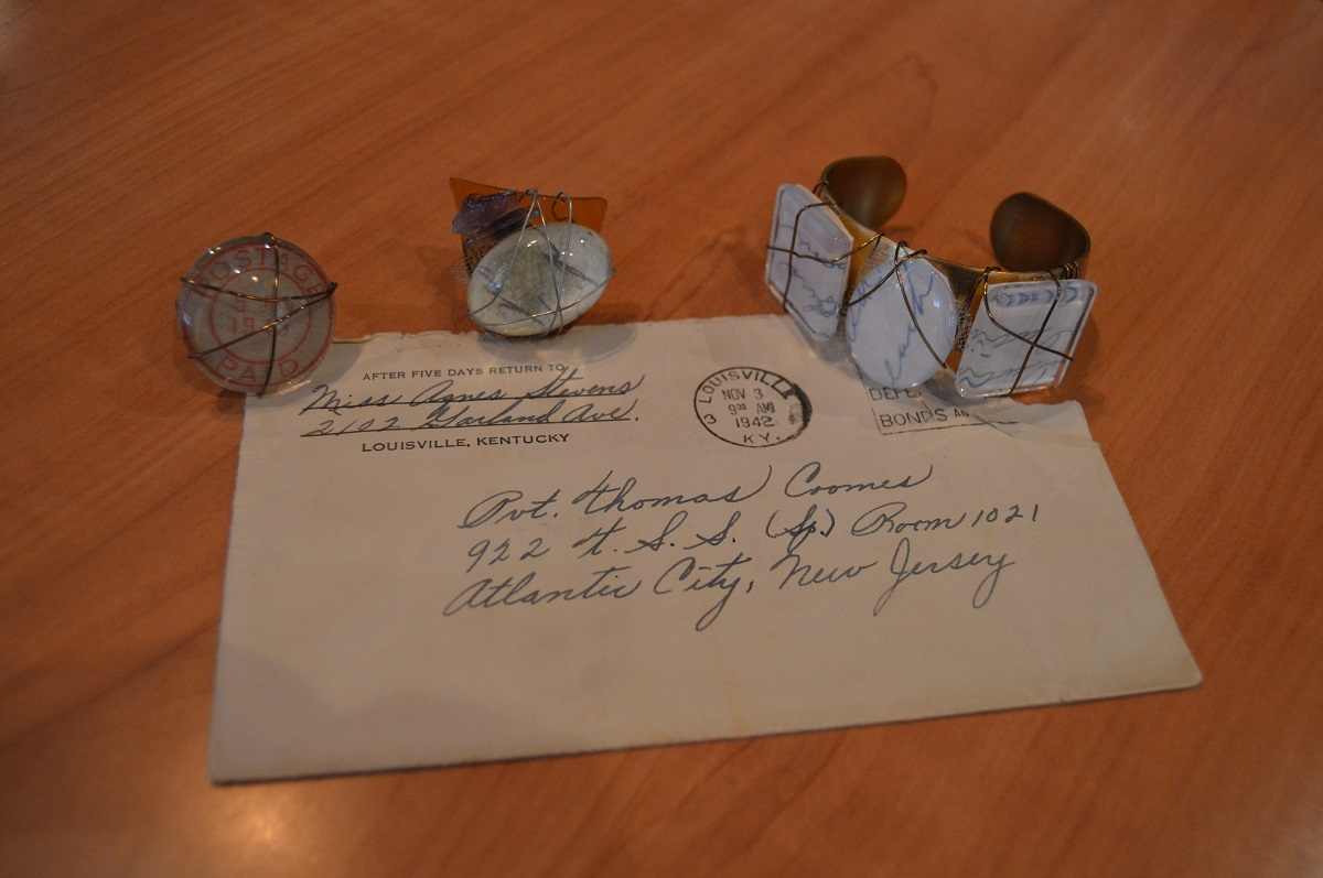 Meghan Coomes Makes Jewelry Out of Love Letters