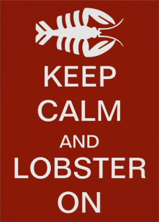Keep Calm and Lobster on