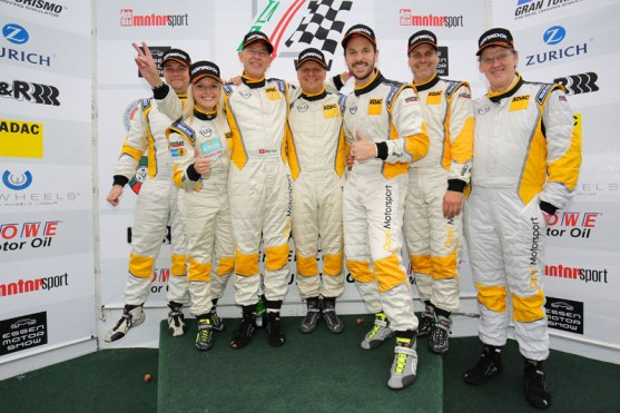 VLN Langstreckenmeisterschaft Nuerburgring 2015, ROWE DMV 250-Meilen-Rennen (2015-10-17): Foto: Jan Brucke