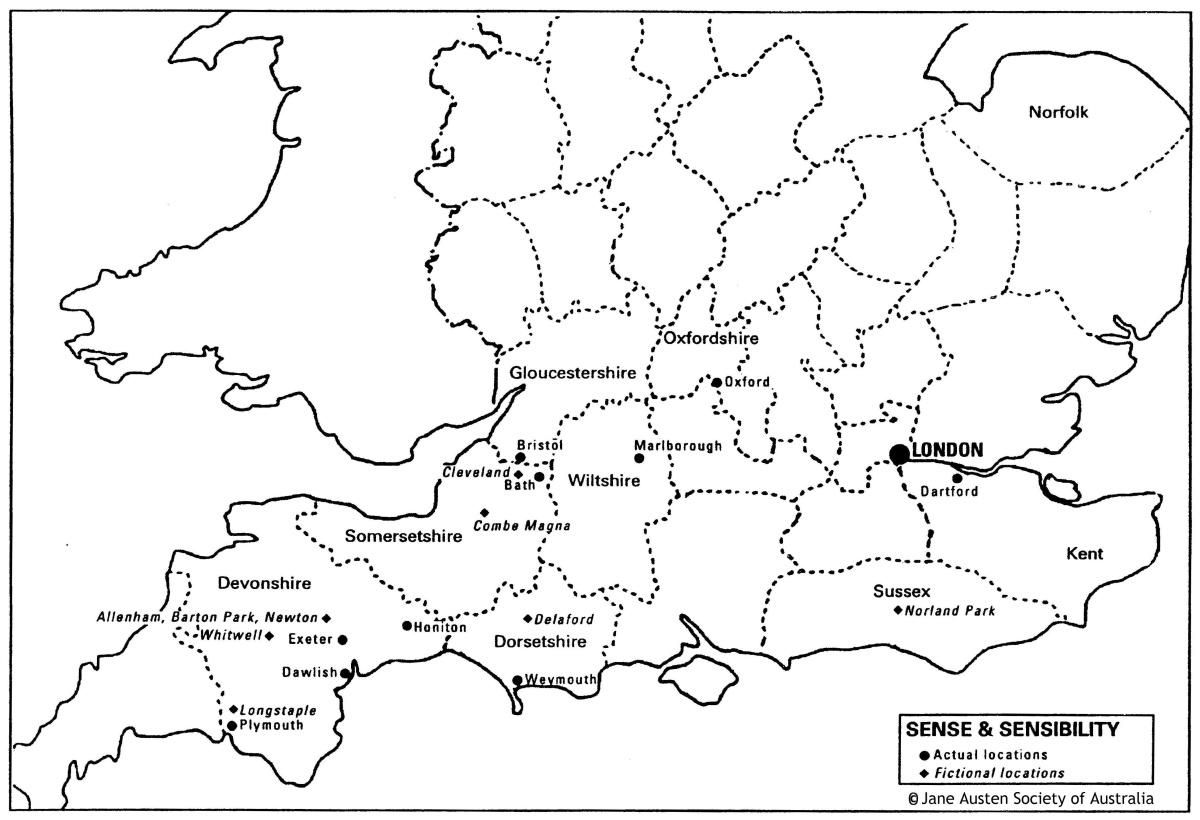 JASNA Sense and Sensibility Locations map-ss-1200