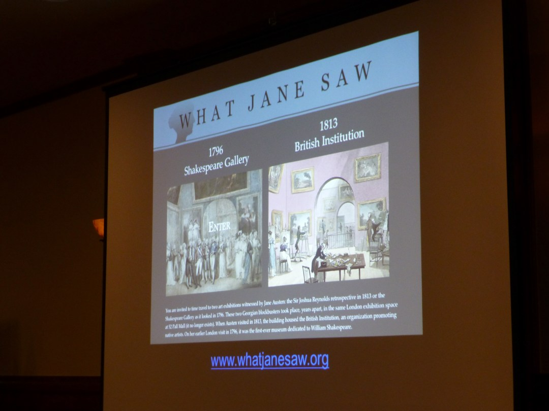 "Janine Barchas discussed her work developing the digital exhibition ""What Jane Saw."""