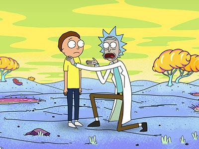 Rick & Morty anxiety attack pep talk