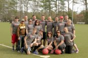 Our winter 2013 kickball team.