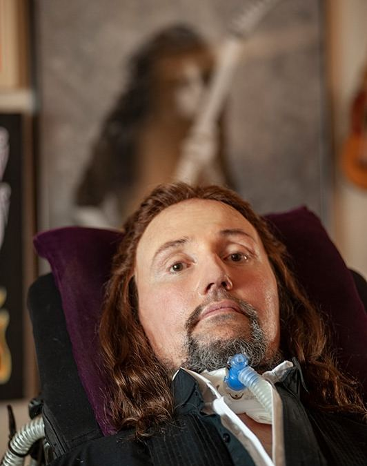 "Update on Jason Becker:  We are all in survival mode and working hard to come back to ""normal"" mode. And fun."