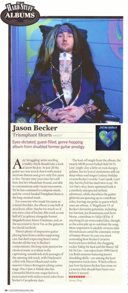 UK - Becker - Classic Rock - Album rev 7:10 - Dec 2018