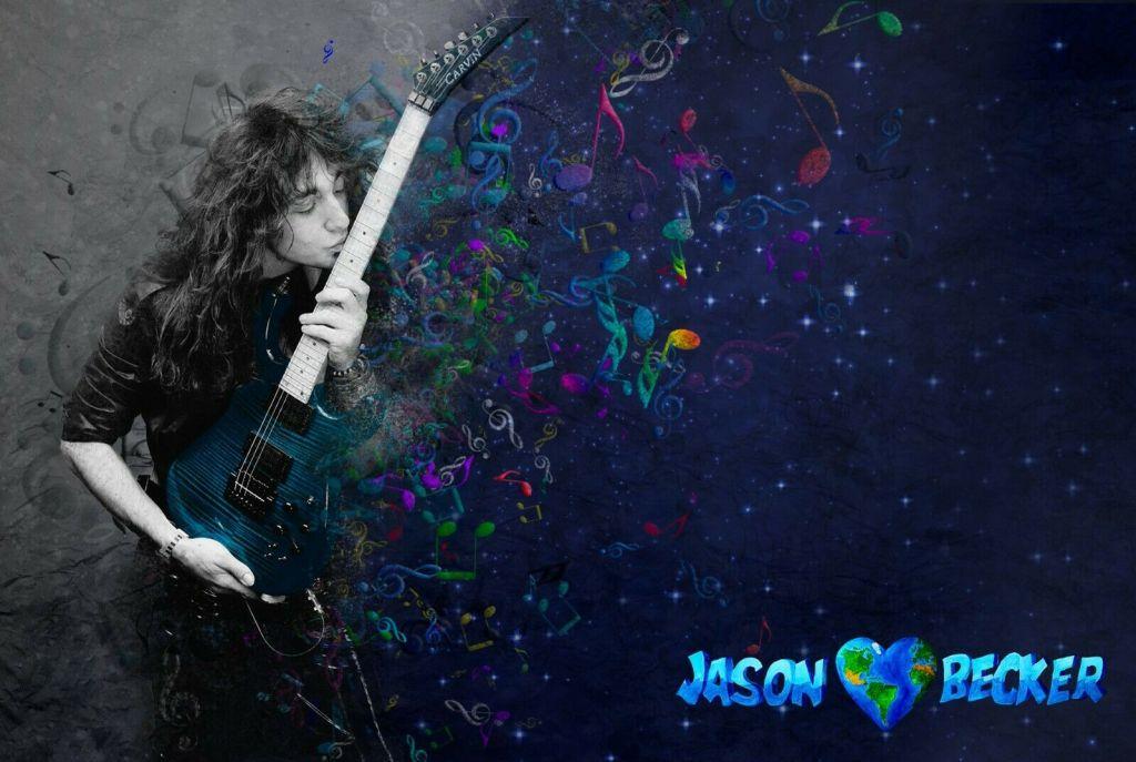 Jason Becker GUITAR KISS MAGIC Poster