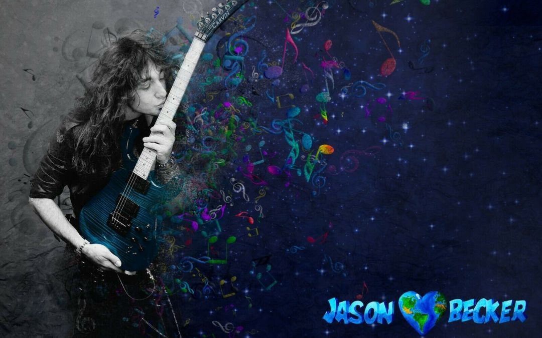 Jason Becker GUITAR KISS MAGIC Poster