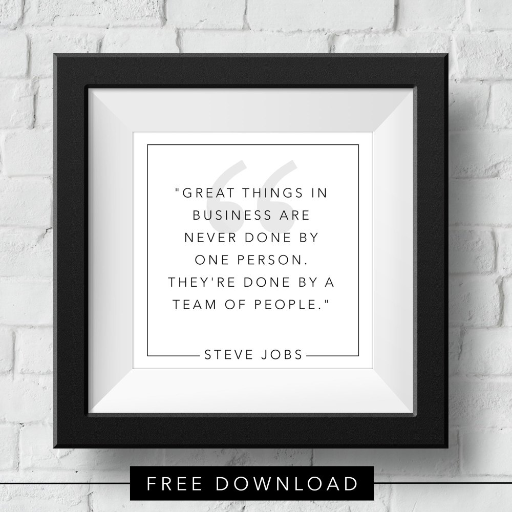 teamwork-steve-jobs-free-download