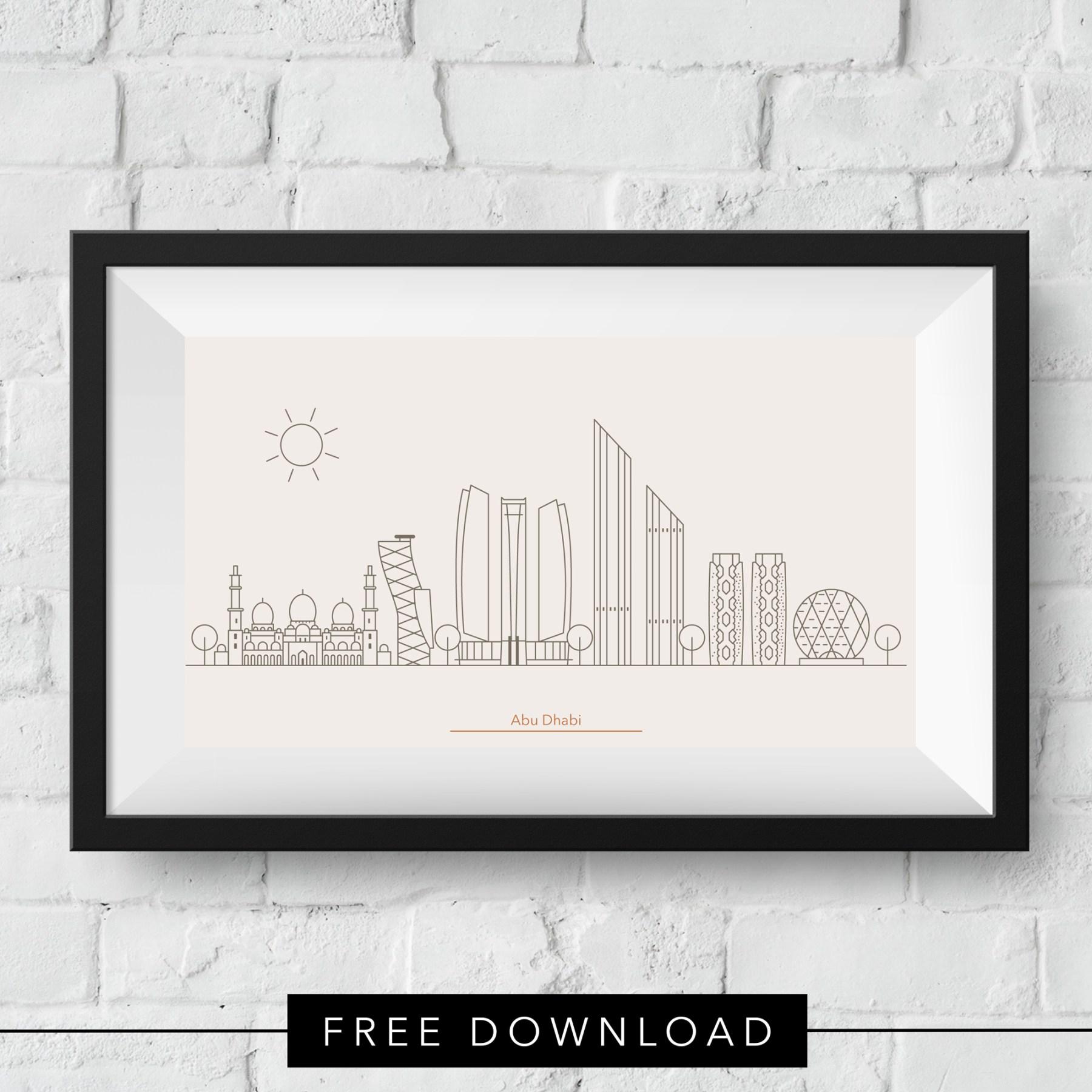 abu-dhabi-skyline-free-download