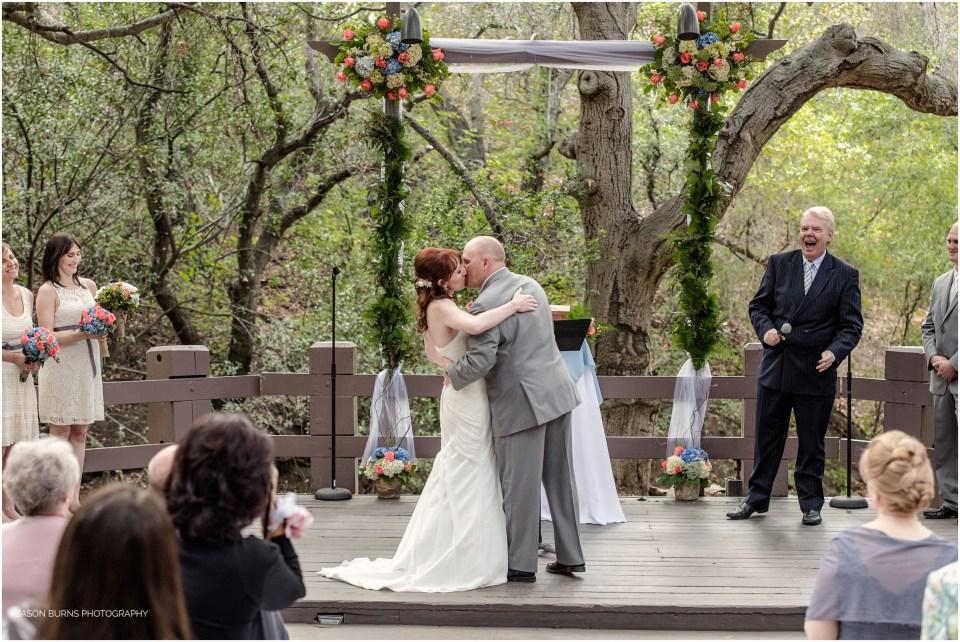 Oak Canyon Nature Center Wedding Jared Lisa Orange County